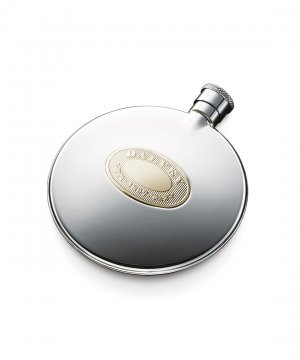 Classic Compact Flask Gold Detail