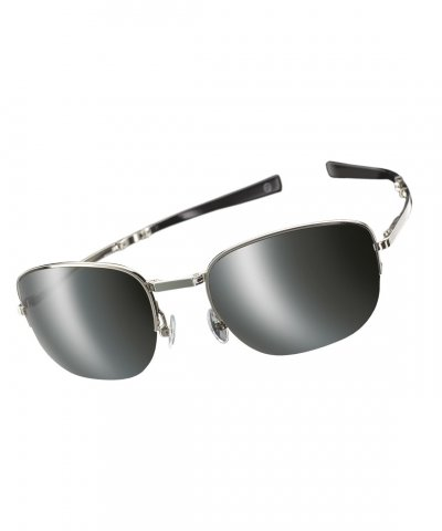 Admiralty Folding Sunglasses Black Caviar