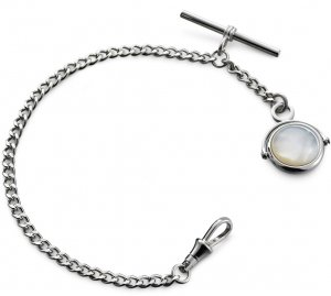 X Albert Watch Chain Mother Of Pearl