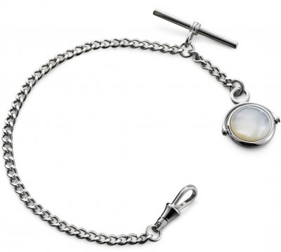 Albert Watch Chain Mother Of Pearl
