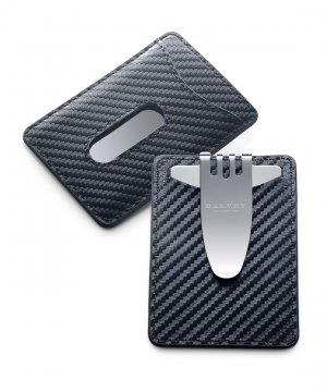 Nocturna Credit Card & Money Clip Black