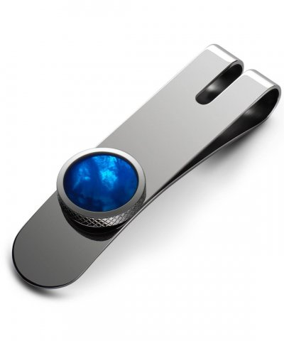 Torque Money clip Blue Mother Of Pearl