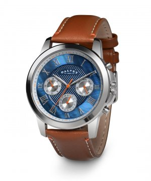 Torque Wristwatch Voyager Blue Mother Of Pearl